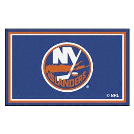 NHL - New York Islanders Rug Carpet Mats 44 X 71 Inches
