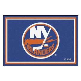 NHL - New York Islanders Rug Carpet Mats 59.5 X 88 Inches