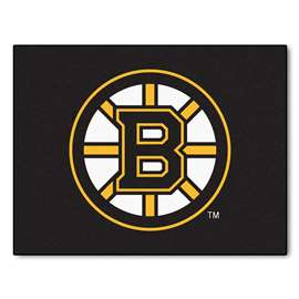 NHL - Boston Bruins Rug Carpet Mats 33.75 X 42.5 Inches