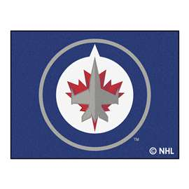 NHL - Winnipeg Jets Rug Carpet Mats 33.75 X 42.5 Inches