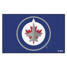 "NHL - Winnipeg Jets Rug, Carpet, Mats 59.5""x94.5"""