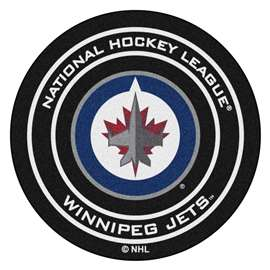 "NHL - Winnipeg Jets Mat, Carpet, Rug 27"" diameter"