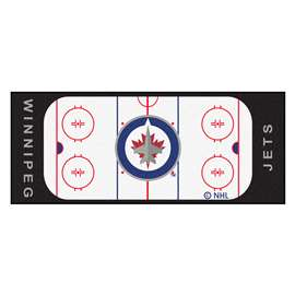 "NHL - Winnipeg Jets Mat, Rug , Carpet 30""x72"""