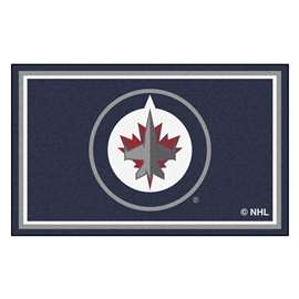 NHL - Winnipeg Jets Rug Carpet Mats 44 X 71 Inches