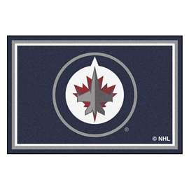 NHL - Winnipeg Jets Rug Carpet Mats 59.5 X 88 Inches