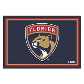 NHL - Florida Panthers Rug Carpet Mats 59.5 X 88 Inches
