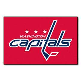 "NHL - Washington Capitals Mat, Rug , Carpet 19""x30"""