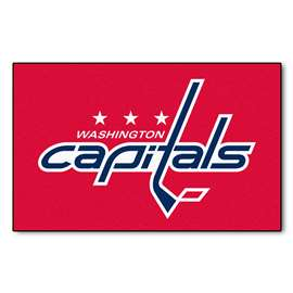 "NHL - Washington Capitals Rug, Carpet, Mats 59.5""x94.5"""