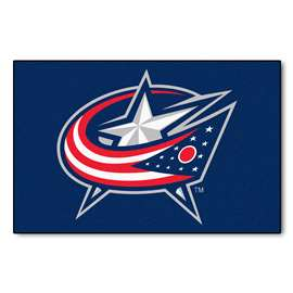 "NHL - Columbus Blue Jackets Mat, Rug , Carpet 19""x30"""