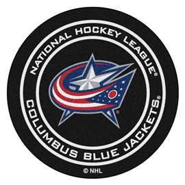 "NHL - Columbus Blue Jackets Mat, Carpet, Rug 27"" diameter"