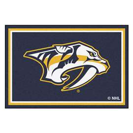 NHL - Nashville Predators Rug Carpet Mats 59.5 X 88 Inches