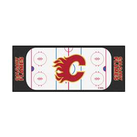 "NHL - Calgary Flames Mat, Rug , Carpet 30""x72"""