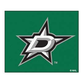 NHL - Dallas Stars Rug Carpet Mats 33.75 X 42.5 Inches