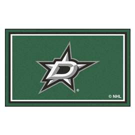 NHL - Dallas Stars Rug Carpet Mats 44 X 71 Inches