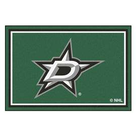 NHL - Dallas Stars Rug Carpet Mats 59.5 X 88 Inches