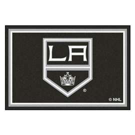 NHL - Los Angeles Kings Rug Carpet Mats 59.5 X 88 Inches