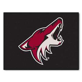 NHL - Arizona Coyotes Rug Carpet Mats 33.75 X 42.5 Inches