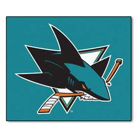 "NHL - San Jose Sharks Rug, Carpet, Mats 59.5""x71"""