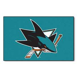 "NHL - San Jose Sharks Rug, Carpet, Mats 59.5""x94.5"""