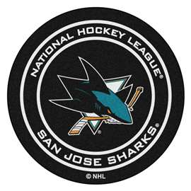 "NHL - San Jose Sharks Mat, Carpet, Rug 27"" diameter"