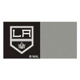 "NHL - Los Angeles Kings Rug, Carpet, Mats 18""x18"" tiles"