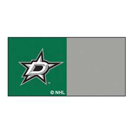 "NHL - Dallas Stars Rug, Carpet, Mats 18""x18"" tiles"