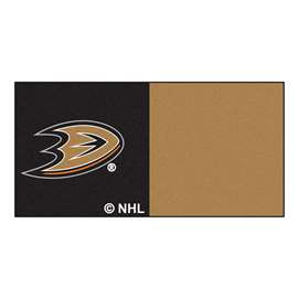 "NHL - Anaheim Ducks Rug, Carpet, Mats 18""x18"" tiles"