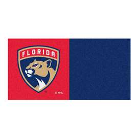 "NHL - Florida Panthers Rug, Carpet, Mats 18""x18"" tiles"