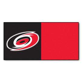 "NHL - Carolina Hurricanes Rug, Carpet, Mats 18""x18"" tiles"