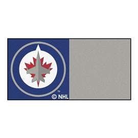 "NHL - Winnipeg Jets Rug, Carpet, Mats 18""x18"" tiles"