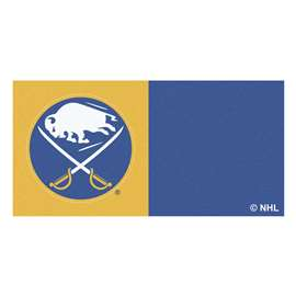 "NHL - Buffalo Sabres Rug, Carpet, Mats 18""x18"" tiles"