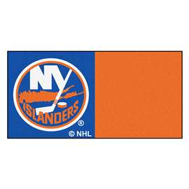 "NHL - New York Islanders Rug, Carpet, Mats 18""x18"" tiles"