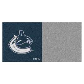 "NHL - Vancouver Canucks Rug, Carpet, Mats 18""x18"" tiles"