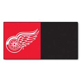 "NHL - Detroit Red Wings Rug, Carpet, Mats 18""x18"" tiles"