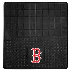 "MLB - Boston Red Sox Vinyl Cargo Mat 31""x31""  Heavy Duty Vinyl Cargo Mat"