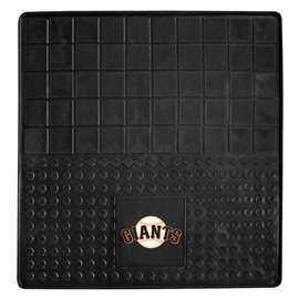 "MLB - San Francisco Giants Vinyl Cargo Mat 31""x31""  Heavy Duty Vinyl Cargo Mat"