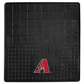 "MLB - Arizona Diamondbacks Vinyl Cargo Mat 31""x31""  Heavy Duty Vinyl Cargo Mat"