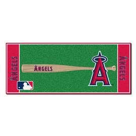 "MLB - Los Angeles Angels Baseball Runner 30""x72""  Baseball Runner"