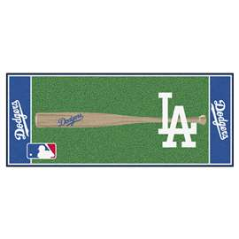 "MLB - Los Angeles Dodgers Baseball Runner 30""x72""  Baseball Runner"