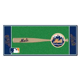 "MLB - New York Mets Baseball Runner 30""x72""  Baseball Runner"