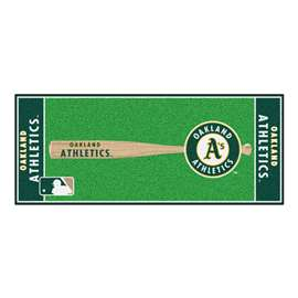 "MLB - Oakland Athletics Baseball Runner 30""x72""  Baseball Runner"