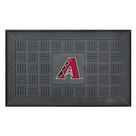 "MLB - Arizona Diamondbacks Door Mat 19.5""x31.25""  Medallion Door Mat"