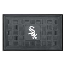 "MLB - Chicago White Sox Door Mat 19.5""x31.25""  Medallion Door Mat"