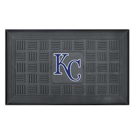 "MLB - Kansas City Royals Door Mat 19.5""x31.25""  Medallion Door Mat"