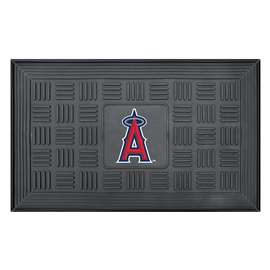 "MLB - Los Angeles Angels Door Mat 19.5""x31.25""  Medallion Door Mat"