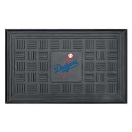 "MLB - Los Angeles Dodgers Door Mat 19.5""x31.25""  Medallion Door Mat"