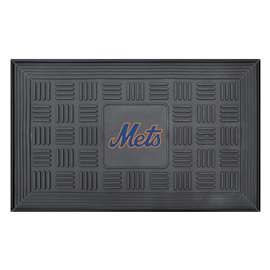 "MLB - New York Mets Door Mat 19.5""x31.25""  Medallion Door Mat"