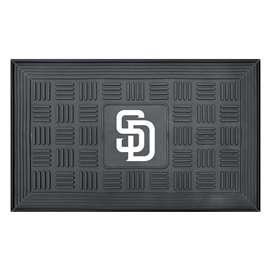 "MLB - San Diego Padres Door Mat 19.5""x31.25""  Medallion Door Mat"