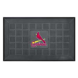 "MLB - St. Louis Cardinals Door Mat 19.5""x31.25""  Medallion Door Mat"