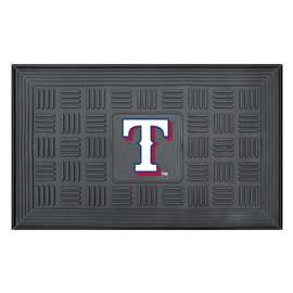 "MLB - Texas Rangers Door Mat 19.5""x31.25""  Medallion Door Mat"